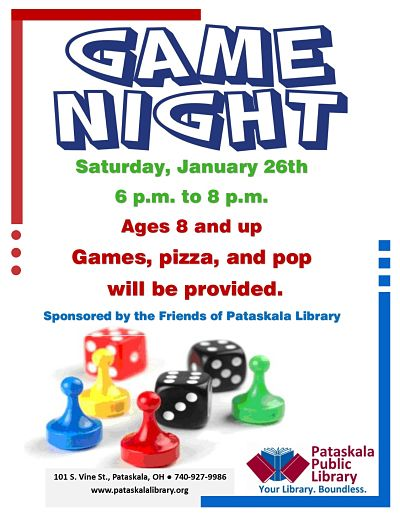 Game Night @ Pataskala Public Library